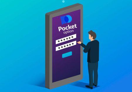 Pocket Option에서 거래 계좌를 여는 방법