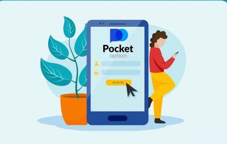 Pocket Option Broker 거래에 가입하고 계정에 로그인하는 방법